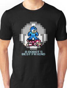 Megaman Riding Jet Rush Unisex T-Shirt