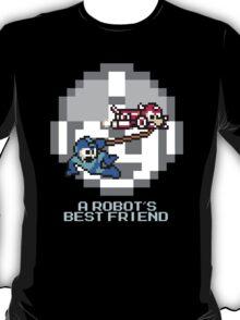 Rush dragging Megaman T-Shirt