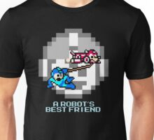 Rush dragging Megaman Unisex T-Shirt