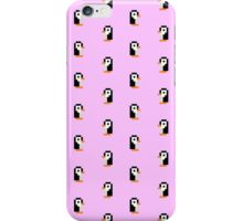 Penguin pattern - pixel art iPhone Case/Skin