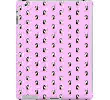 Penguin pattern - pixel art iPad Case/Skin
