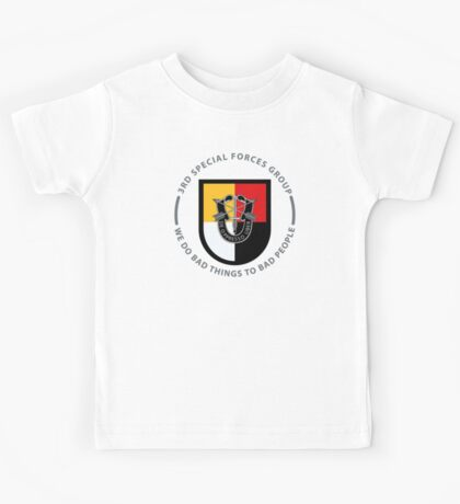 3rd Special Forces Group Kids Tee