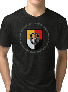 3rd Special Forces Group Tri-blend T-Shirt