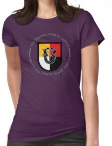 3rd Special Forces Group Womens Fitted T-Shirt