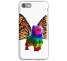 BUTTERFLY RAINBOW UNICORN CAT iPhone Case/Skin