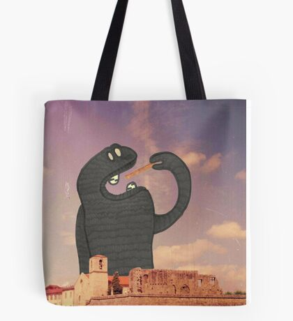 Monsters Under My Bed #06 Tote Bag