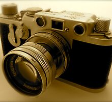 Classic 1950s Leica Camera by John Colley