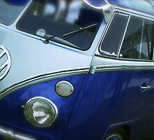 VW Camper Van Split Screen by John Colley