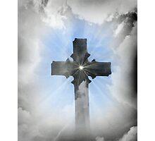 Heavenly Cross Photographic Print