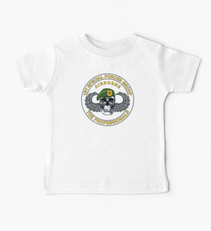 1st Special Forces Group Skull Baby Tee
