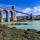 Menai Suspension Bridge by daze420