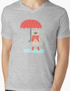 Rainy Day Mens V-Neck T-Shirt
