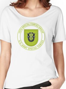 10th Special Forces Group Women's Relaxed Fit T-Shirt