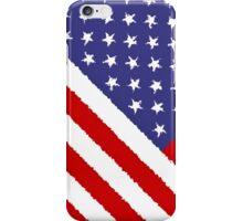 Smartphone Case - Flag of the United States of America - Diagonal Painted iPhone Case/Skin