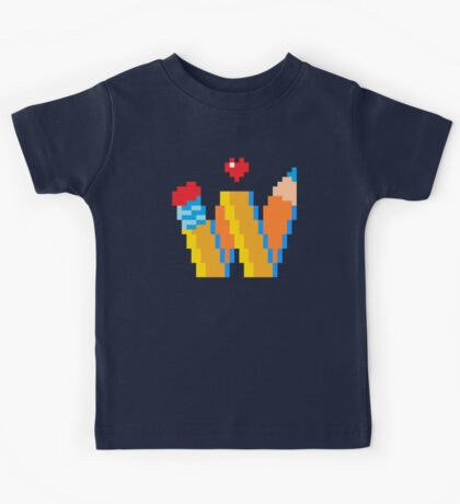 DREW WISE LOGO Kids Tee