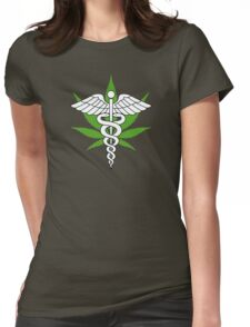 Medical Marijuana Womens Fitted T-Shirt