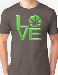 Weed Love Unisex T-Shirt