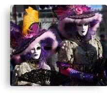 Carnival of Venice Canvas Print