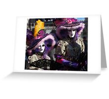 Carnival of Venice Greeting Card