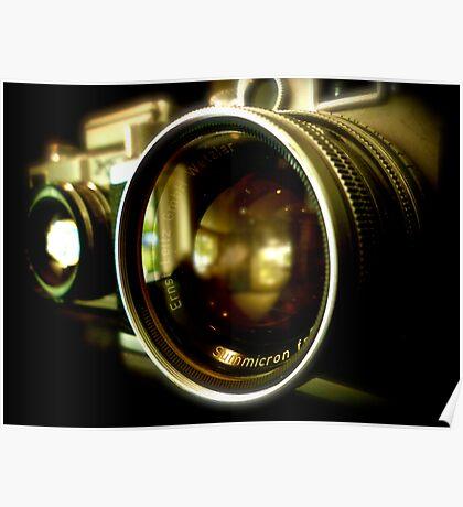 Leica Classic Film Camera  Poster