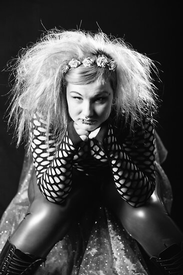 Kim B.T Black & White by LisaRoberts