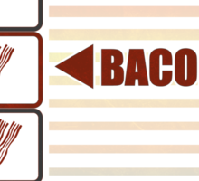 BACON 2 Sticker
