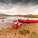 Red Canoes by Stephen Knowles