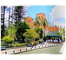 Downtown Cuenca Poster