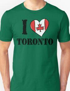 I Love Toronto Canada Unisex T-Shirt