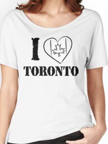 I Love Toronto Canada Women's Relaxed Fit T-Shirt