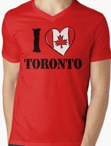 I Love Toronto Canada Mens V-Neck T-Shirt