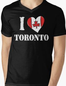 I Love Toronto Canada Mens V-Neck T-Shirt