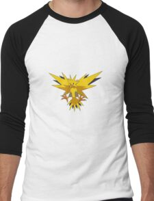 Zapdos Pokemon Men's Baseball ¾ T-Shirt