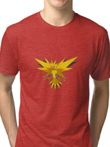 Zapdos Pokemon Tri-blend T-Shirt