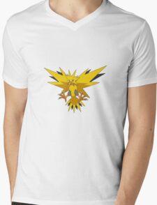 Zapdos Pokemon Mens V-Neck T-Shirt