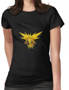 Zapdos Pokemon Womens Fitted T-Shirt
