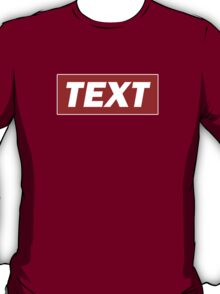 Obey Text T-Shirt