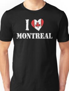 I Love Montreal Canada Unisex T-Shirt
