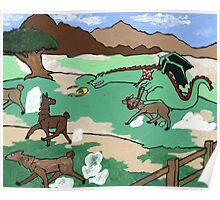 Llama lunchathon  Poster