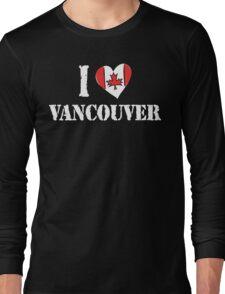 I Love Montreal Canada Long Sleeve T-Shirt