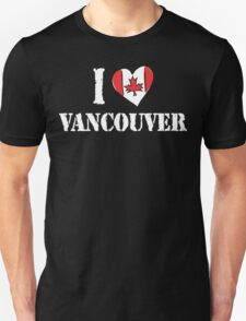 I Love Montreal Canada T-Shirt