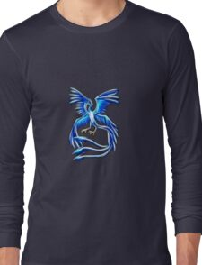 Articuno Pokemon Legendary Bird Long Sleeve T-Shirt