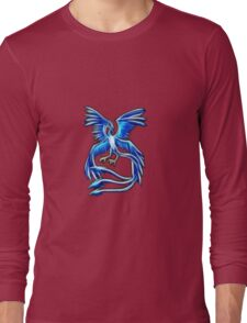 Articuno Pokemon Legendary Bird Long Sleeve T-Shirt