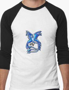 Articuno Pokemon Legendary Bird Men's Baseball ¾ T-Shirt