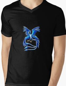 Articuno Pokemon Legendary Bird Mens V-Neck T-Shirt