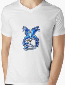 Articuno Pokemon Legendary Bird Mens V-Neck T-Shirt