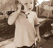 Little boy on hold by estelle82