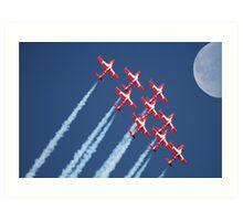 Snowbirds Aerobatics Team in flight Art Print