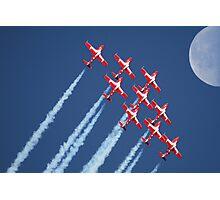 Snowbirds Aerobatics Team in flight Photographic Print