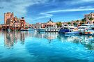 Marina and Atlantis Towers - Paradise Island, The Bahamas by Jeremy Lavender Photography
